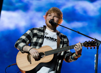 Ed Sheeran is playing Dublin's Phoenix Park tonight