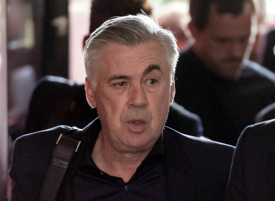 Ancelotti was last in charge of Bayern Munich.