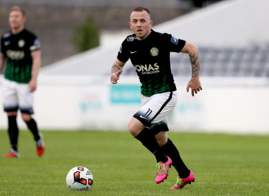 Gary McCabe was on target for Bray (file pic).