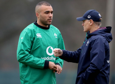Zebo has won 35 Ireland caps.