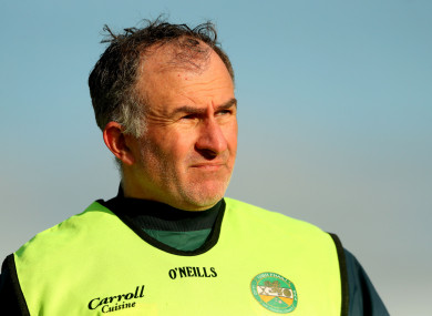Ex-Offaly boss Stephen Wallace (file pic).