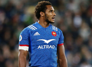 France full-back Benjamin Fall