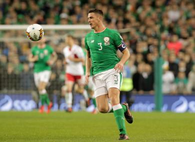 Ireland defender Ciaran Clark.
