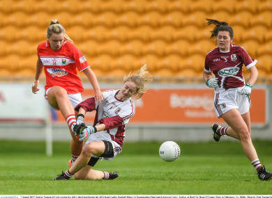 In action against Galway.
