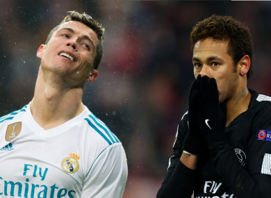 'We all want Ronaldo to stay and Neymar has our doors wide open.'