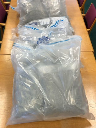 The drugs seized from Blanchardstown