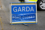 The stretch of road is closed to facilitate an examination by garda forensic collision investigators.