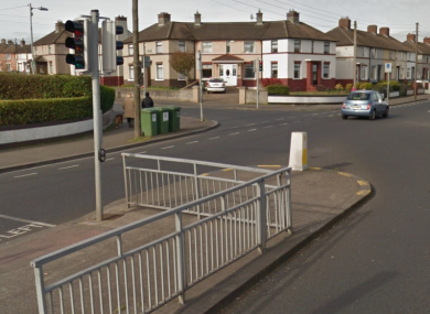 The junction where the incident occurred.