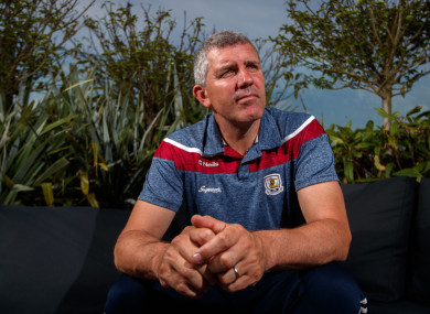 Galway football boss Kevin Walsh.