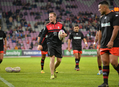 Prendergast was previously with Oyonnax Rugby.