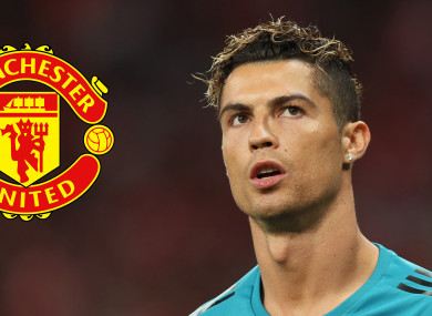Cristiano Ronaldo has hinted he is unhappy with life at Real Madrid.