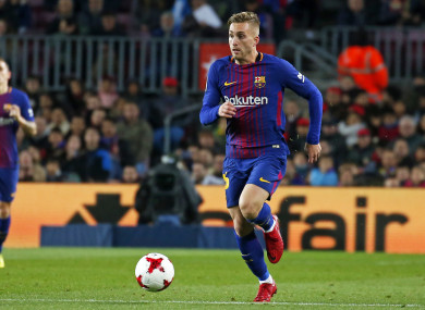Deulofeu hasn't quite made the grade at Barcelona.