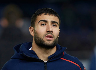 Lyon attacker Nabil Fekir.