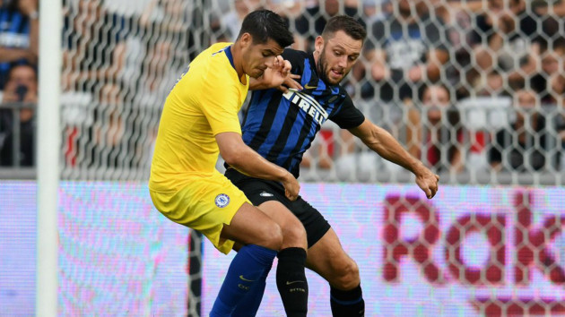 Morata on form for Chelsea as Inter fall on penalties