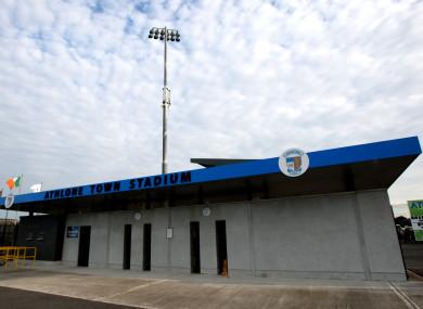 General view of Athlone Town Stadium.
