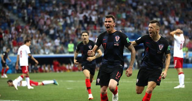 As it happened: Croatia vs Denmark, World Cup last-16