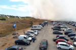 Gardaí probe Wexford fire after reports that barbecue caused huge beach blaze