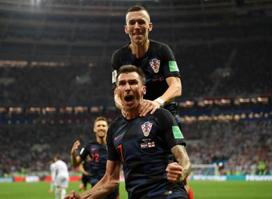 Mandžukić struck to send Croatia into a first-ever World Cup final.