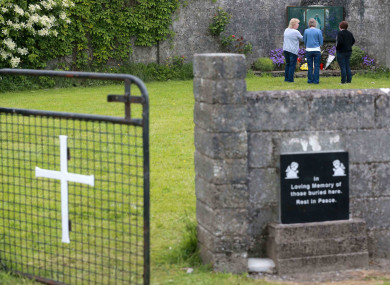 The site of the former Mother and Baby home in Tuam, Co Galway.