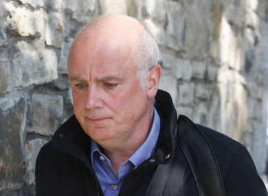 Former Anglo Irish bank chief executive David Drumm.