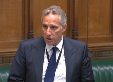Paisley made an apology in the House of Commons last week.