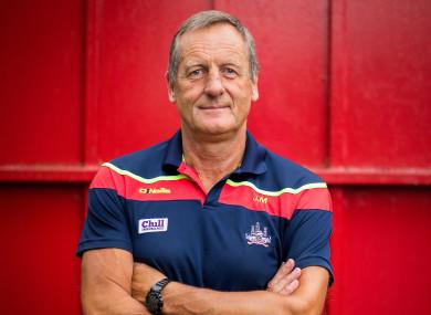 Cork hurling manager John Meyler.