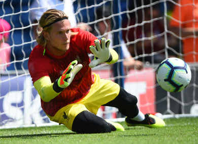 Loris Karius: target of online criticism and abuse.