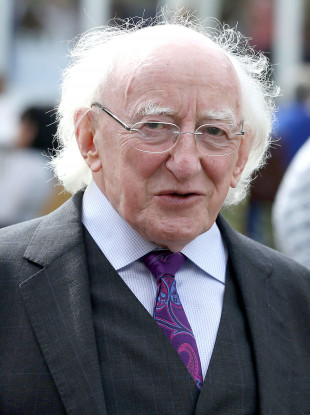 President Higgins has confirmed that he will seek re-election.