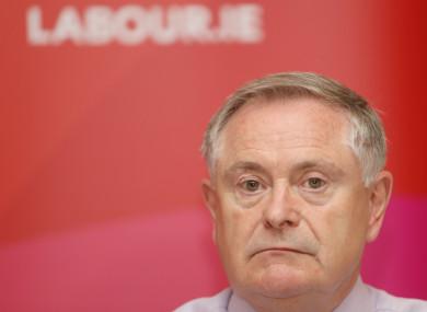 Labour leader Brendan Howlin
