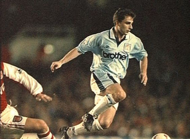 Georgi Kinkladze was a star for Man City in the 1990s.