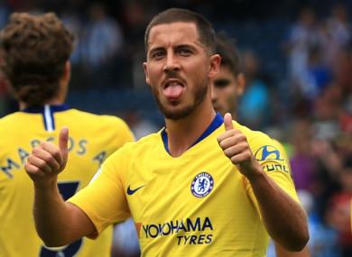 Staying put: Eden Hazard.