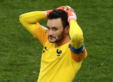 Hugo Lloris (file pic).