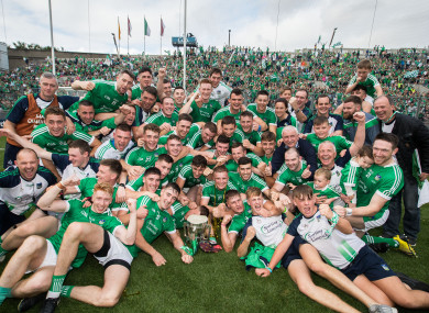Limerick: champions for the first time since 1973.