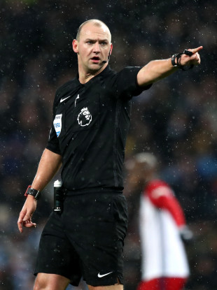 Madley has officiated in the top flight since 2013.