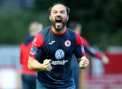 Raffaele Cretaro was on the scoresheet for Sligo on Friday night.