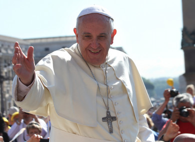 Pope Francis arrives in Ireland on 25 August.