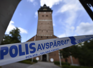 Police locks after thieves stole royal crowns from the 17th century from Strängnäs Cathedra