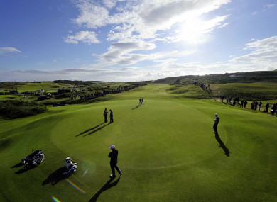 Royal Portrush: hosted the Open in 1951.