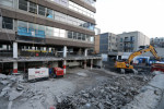 File photo: Apollo House as demolition began earlier this year.