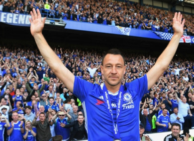 John Terry (file pic).