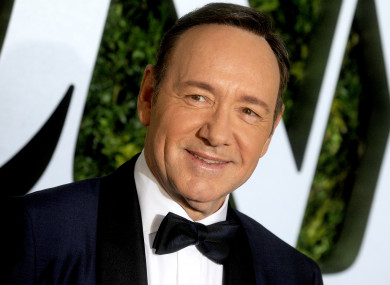 Kevin Spacey in 2017