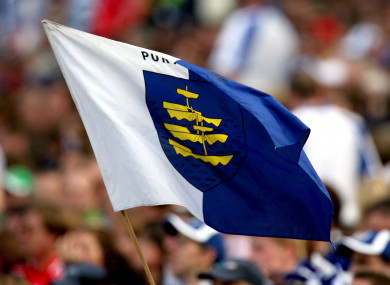 A Waterford flag (file pic).
