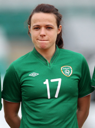 Aine O'Gorman won 100 caps for Ireland.