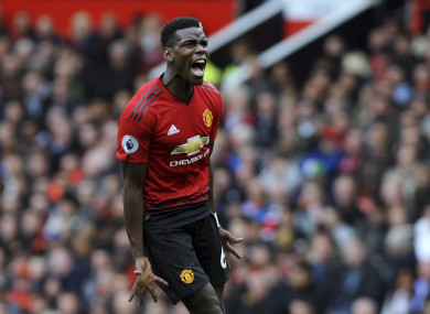 Tensions between Pogba and Mourinho are rising.