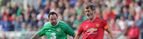 Football legends pay tribute to the late Liam Miller at a packed Páirc Uí Chaoimh