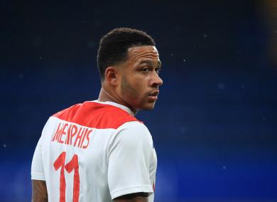Memphis Depay, Olympique Lyonnais.