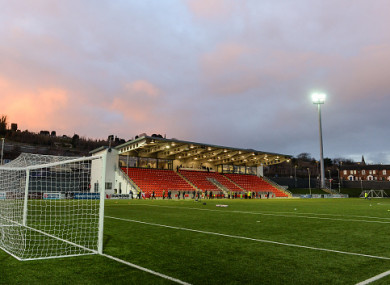 Derry City's Brandywell Stadium.