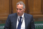 DUP MP Ian Paisley apologising to the House of Commons in London, July 2018