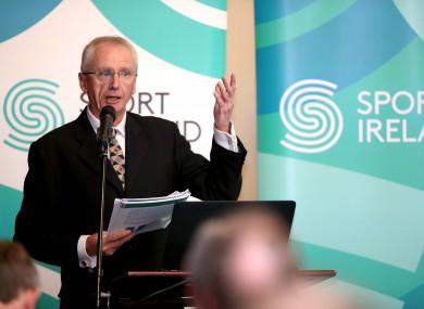 Sport Ireland CEO, John Treacy (file photo).