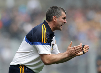 Sheedy is back in charge of the Tipperary hurlers.